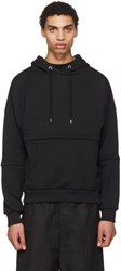 Cottweiler Black Zip Off Sleeves Hoodie
