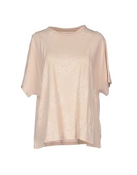 Alpha Studio T Shirts Beige