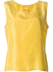 Christian Lacroix Vintage Oversized Top Yellow And Orange
