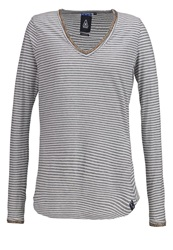 Gaastra Eleonora Long Sleeved Top Dark Grey