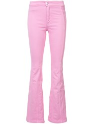 Givenchy Flared Jeans Pink Purple