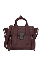 3.1 Phillip Lim Pashli Mini Satchel Black Cherry