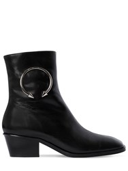 Dorateymur 40Mm Nizip Off Road Leather Ankle Boots Black