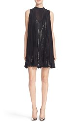 Tracy Reese Women's Pleated Overlay Dress