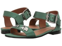 Emporio Armani X3p617 Verde Explorer Women's Sandals Green