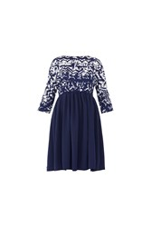 Maiocci Collection Slouchy Baby Doll Dress Blue