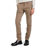 Mason Tricotine Jersey Slim Fit Trousers Olive