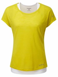 Craghoppers Pro Lite T Shirt Yellow