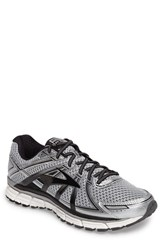 Brooks Men's Adrenaline Gts 17 Running Shoe Silver Black Anthracite