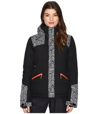 Roxy Flicker Jacket Mauritius Daze Women's Coat Black
