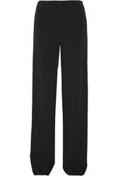 Narciso Rodriguez Stretch Crepe Wide Leg Pants
