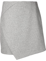 Carven A Line Fold Over Skirt
