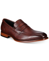 Bar Iii Men's Beau Textured Penny Loafers Only At Macy's Men's Shoes Oxblood