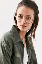Urban Outfitters Kendall Round Readers Brown