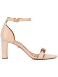 Coach Signature Link Sandals Nude And Neutrals