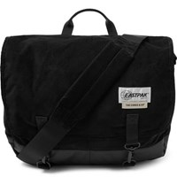 Eastpak The Cords And Co Delegate Corduroy And Shell Messenger Bag Black