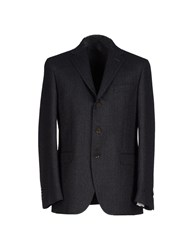 Michelangelo Suits And Jackets Blazers Men Steel Grey