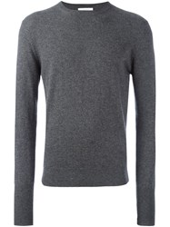 Ballantyne Crew Neck Pullover Grey