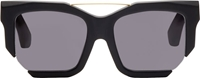 D.Gnak By Kang.D Black Cut Out Speculum Edition Sunglasses