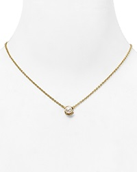 Kate Spade New York Dainty Sparklers Faux Pearl Pendant Necklace 17 Cream