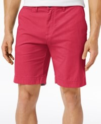 Tommy Hilfiger Men's Shorts 9 Inseam Geranium