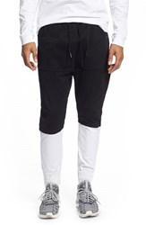 Men's Thing Thing 'The Tri Para' Tapered Fit Drop Crotch Jogger Pant