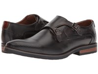 Giorgio Brutini Keel Charcoal Lace Up Wing Tip Shoes Gray