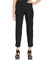 Eileen Fisher Petite Slim Fit Side Zip Ankle Pants