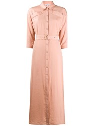 Patrizia Pepe Maxi Shirt Dress 60