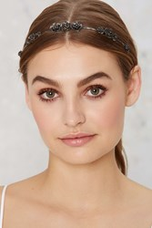 Nasty Gal Ouroboros Designs Lotus Flower Metal Headband