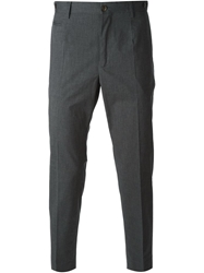 Dolce And Gabbana Short Tapered Trousers