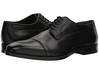 Canali Cap Toe Oxford Black Men's Lace Up Cap Toe Shoes