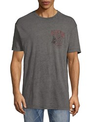 Affliction Ac Four Stroke Tee Graphite