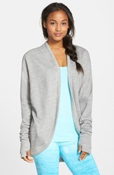 Women's Hard Tail Cocoon Cardigan Heather Gray