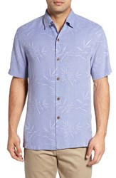 Tommy Bahama Men's Big And Tall Luau Floral Silk Shirt Ritzy Purple