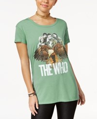 Hybrid Juniors' The Who Graphic T Shirt Abyss