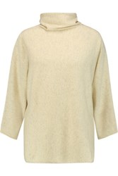 Brunello Cucinelli Ccashmere Turtleneck Sweater Pastel Yellow
