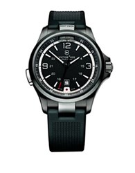 Victorinox Men's Black Stainless Steel Watch