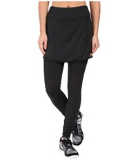 Skirt Sports Wrapsody With Tights Black Women's Skort