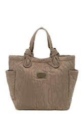 Marc By Marc Jacobs Pretty Nylon Medium Tate Tote Gray