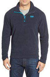 Men's Helly Hansen 'Daybreaker' Half Zip Fleece Jacket Navy