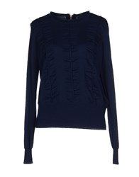Coast Weber And Ahaus Sweaters Dark Blue