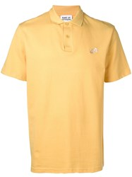 Band Of Outsiders Embroidered Logo Polo Shirt Yellow