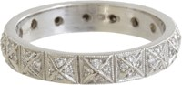 Cathy Waterman Women's Pyramid Band Colorless