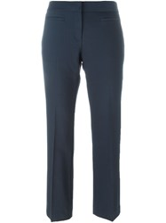 Michael Michael Kors Slim Cropped Trousers Blue
