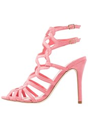 Faith Luis Sandals Bright Pink