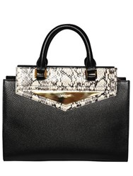 Vionnet Ayers And Grained Leather Top Handle Bag