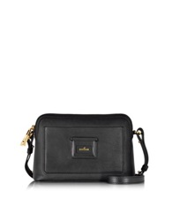 Hogan Leather Crossbody Bag Black