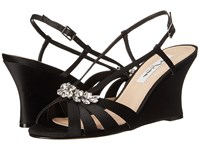 Nina Viani Black Women's Wedge Shoes