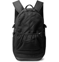 Nike Leather Trimmed Cordura Backpack Black